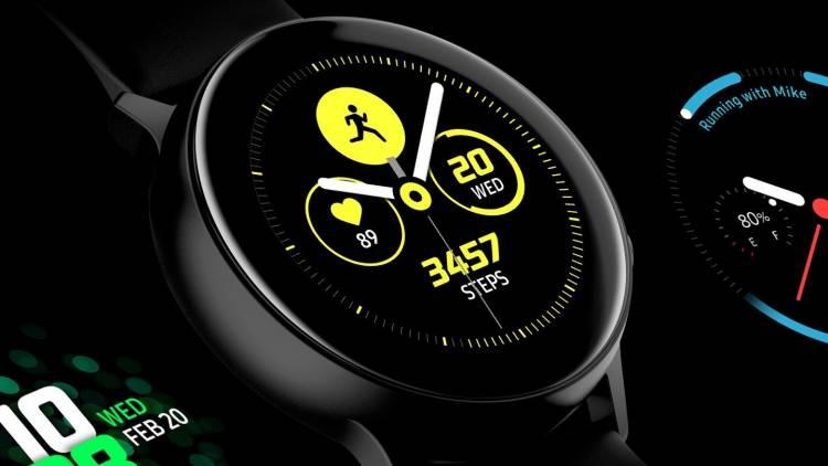 Samsung Galaxy Watch Active 2 Fotoğrafları sızdı. Tüm özellikleri belli oldu.