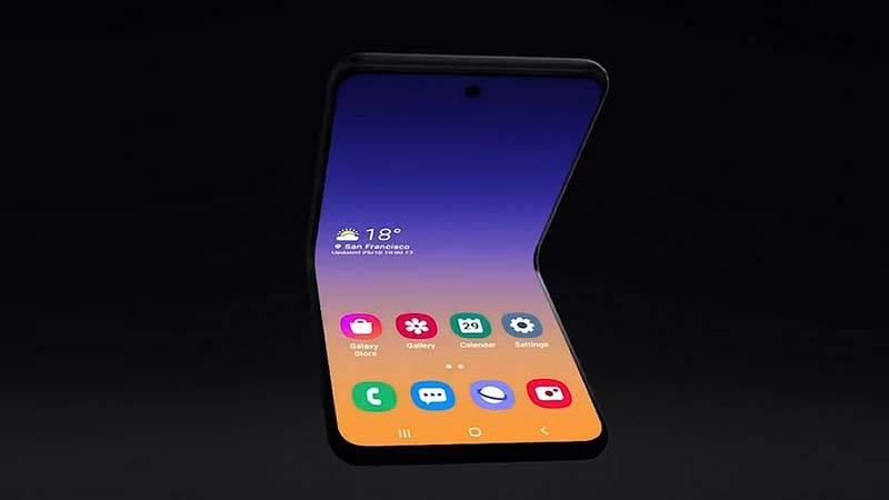 Galaxy Bloom, Samsung'un yeni katlanabilir telefonunun adı